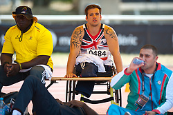 Behind the scenes, STEPHENS Nathan, GBR, Discus, F57/58, 2013 IPC Athletics World Championships, Lyon, France