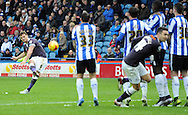 Chris Martin y of Derby County shoots for goal during the Sky Bet Championship match at Hillsborough, Sheffield<br /> Picture by Graham Crowther/Focus Images Ltd +44 7763 140036<br /> 06/12/2015