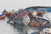April 2, 2014 - Iquique, Chile - <br /> <br /> 8.2 Earthquake Hits Chile's Northern Coast<br /> <br />  An 8.2-magnitude earthquake hit off the northern coast of Chile Tuesday, leaving 6 people dead while thousands of people have been evacuated due to a tsunami alert. <br /> ©Exclusivepix