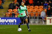 AFC Wimbledon defender Terell Thomas (6)  during the EFL Sky Bet League 1 match between Blackpool and AFC Wimbledon at Bloomfield Road, Blackpool, England on 16 November 2019.