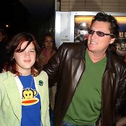 Premiere Mans Genoeg, Utrecht Filmfestival 2004, Barry hay en dochter Isabella