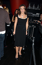 ELLA KRASNER at a preview of Lulu Guinness's new Handbag Collection ' Couture' held at Aviva, Baglioni Hotel, 60 Hyde Park Gate, London SW7 on 15th February 2006.<br />