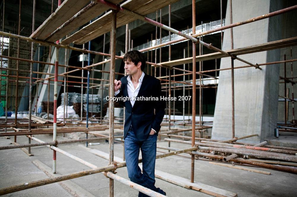 BEIJING, MAY-27, 2007: Ole Scheeren