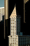 Smith Tower in the Pioneer Square area.