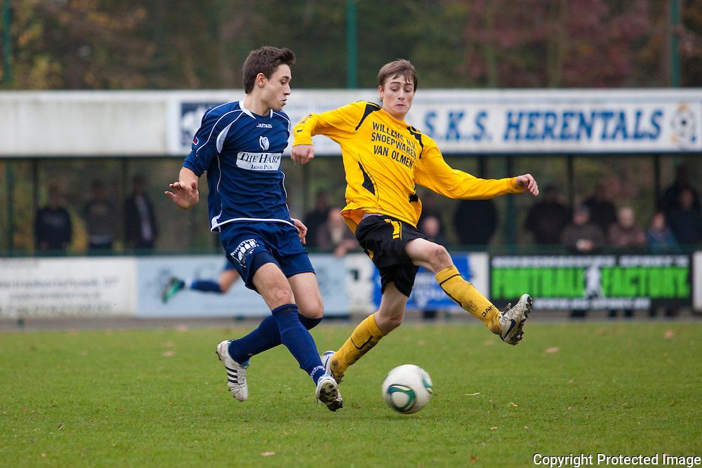 368675-voetbal sks herentals tegen OG Vorselaar-Olympiadelaan Herentals