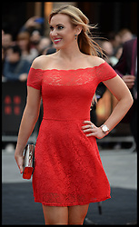 Rebecca Ferdinando attends the  Godzilla European premiere at the Odeon cinema in Leicester Square central London, United Kingdom. Sunday, 11th May 2014. Picture by Andrew Parsons / i-Images