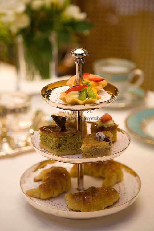 High tea at the Alvear Palace Hotel
