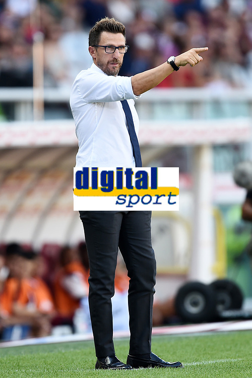 Eusebio Di Francesco<br /> Torino 19-08-2018 Stadio Olimpico Grande Torino <br /> Football Calcio Serie A 2018/2019 Torino - Roma Foto Daniele Buffa / Image Sport / Insidefoto