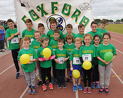 Foxford Community games group at the Mayo finals in Claremorris.<br />
