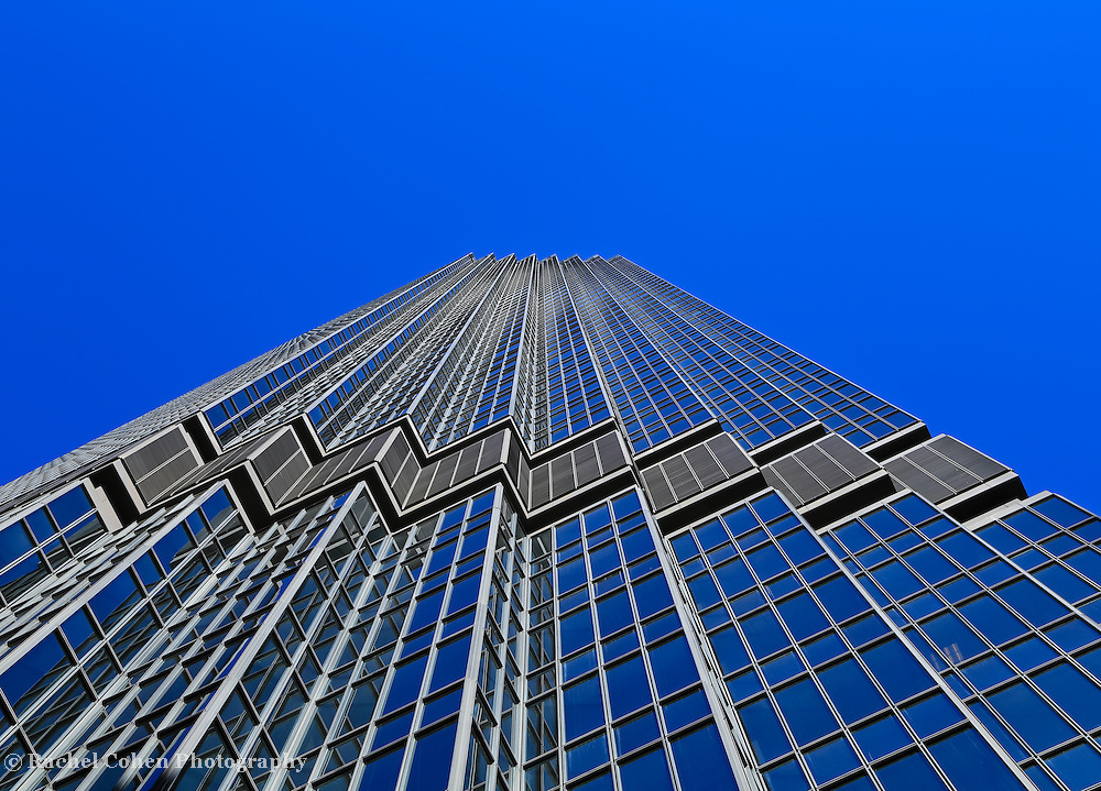 &quot;IDS Tower Minneapolis&quot; 3<br /> <br /> Love the color Blue?<br /> Blue sky and reflections on the IDS Tower&quot;<br /> Cities and Skyscrapers by Rachel Cohen