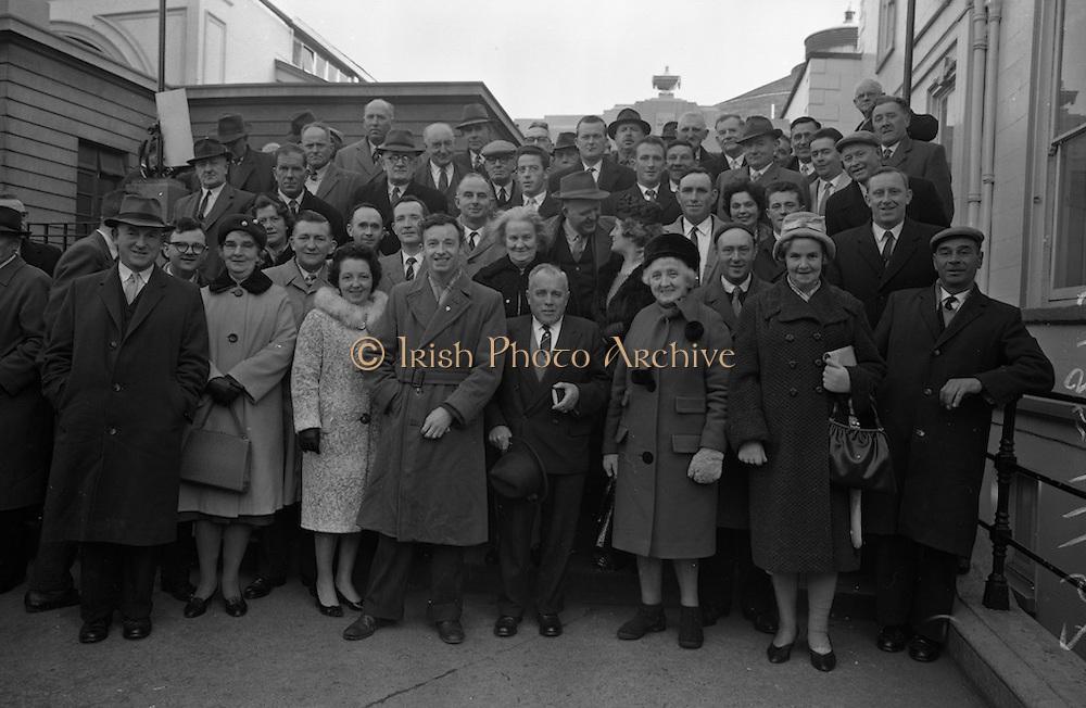 Fianna Fail Árd Fheis, Mansion House, Dublin.<br /> 20.11.1962