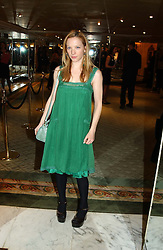 Actress NATALIE PRESS at the 25th annual Awards of the London Film Critics' Circle in aid of the NSPCC held at The Dorchester Hotel, Park Lane, London W1 on 9th February 2005.<br /><br />NON EXCLUSIVE - WORLD RIGHTS