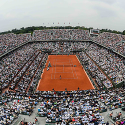 General view of Philippe Chatrier court during Day 15 for the French Open 2018 on June 10, 2018 in Paris, France. (Photo by Baptiste Fernandez/Icon Sport)