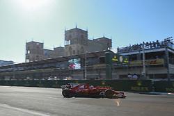 June 24, 2017 - Baku, Azerbaijan - Motorsports: FIA Formula One World Championship 2017, Grand Prix of Europe, .#5 Sebastian Vettel (GER, Scuderia Ferrari) (Credit Image: © Hoch Zwei via ZUMA Wire)