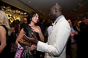 ASSIA WEBSTER; OSWALD BOATENG, Book launch party for the paperback of Nicky Haslam's book 'Sheer Opulence', at The Westbury Hotel. London. 21 April 2010