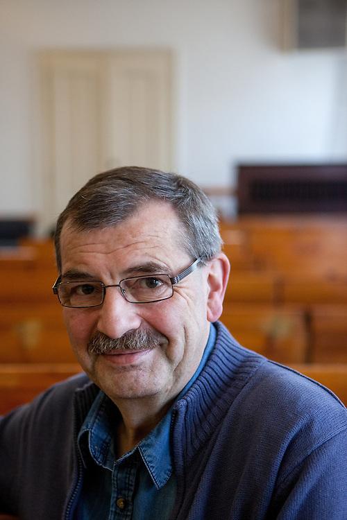 Zdenek Benes, Kurator der Gemeinde in Tabor.