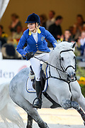 Judy Ann Melchior - Levisto Z<br /> FEI World Breeding Jumping Championships for Young Horses 2009<br /> © DigiShots