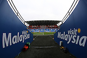 A general view of the Cardiff City Stadium before  the EFL Sky Bet Championship match between Cardiff City and Brighton and Hove Albion at the Cardiff City Stadium, Cardiff, Wales on 3 December 2016.
