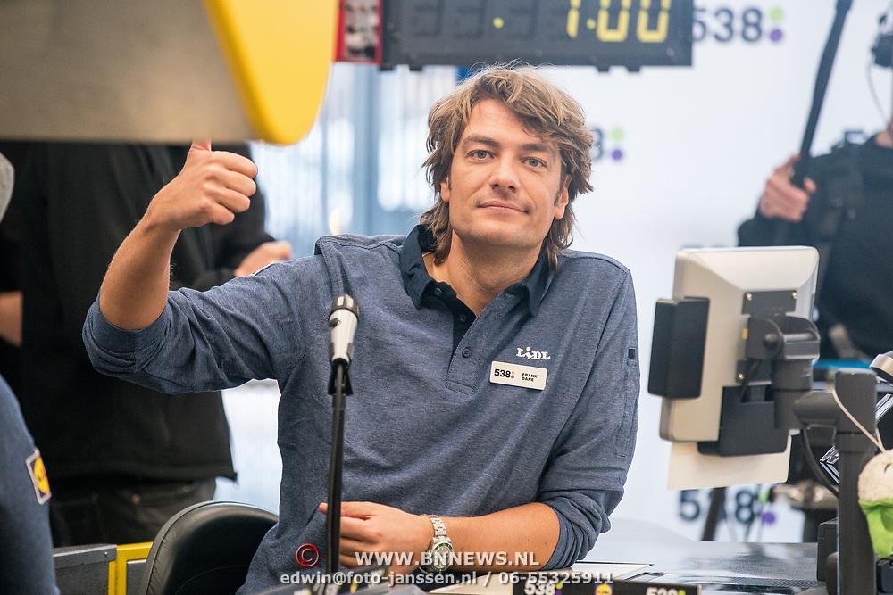 NLD/Hiuizen/20190108 - '1 Minuut gratis winkelen met Radio 538', Frank Dane
