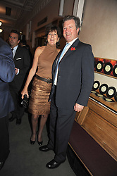 The EARL & COUNTESS OF BALFOUR at a party to celebrate the publication of 'Past Imperfect' by Julian Fellowes held at Cadogan Hall, 5 Sloane Terrace, London SW1 on 4th November 2008.
