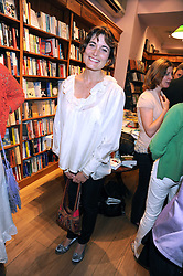 ROMILLY WEEKS at a party to celebrate the publication of Charlotte Eagar's book'The Girl in the Film'held at the Daunt Bookshop, Holland Park Avenue, London on 10th July 2008.NON EXCLUSIVE - WORLD RIGHTS
