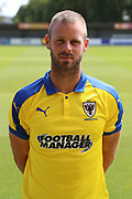 AFC Wimbledon fitness coach Jason Moriarty head and shoulders during the EFL Sky Bet League 1 match between AFC Wimbledon and Coventry City at the Cherry Red Records Stadium, Kingston, England on 11 August 2018.