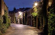 An old street in Edinburgh.