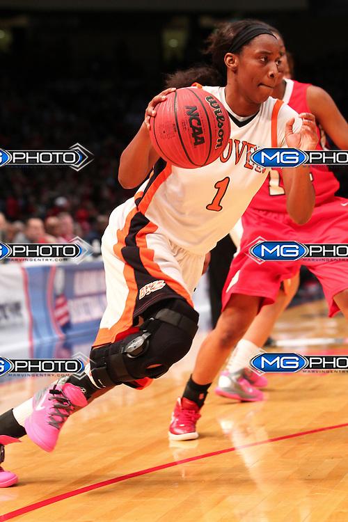 Mar 3, 2012;  Birmingham, AL, USA;  Alabama 6A State basketball championships Hoover vs Bob Jones at the BJCC. Mandatory Credit: Marvin Gentry
