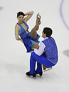 06 Aug 2009: Lauren Corry of the Washington Figure Skating Club and Alexander Lorello of the University of Delaware Figure Skating Club skate in the Senior Free Dance event at the 2009 Lake Placid Ice Dance Championships in Lake Placid, N.Y.  The couple placed 10th in the event.   © Todd Bissonette