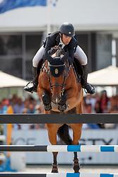 Alvarez Aznar Eduardo, ESP, Rokfeller de Pleville Bois Margot<br /> Rolex Grand Prix CSI 5* - Knokke 2017<br /> © Dirk Caremans<br /> 09/07/17