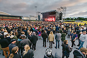 Photos of Massive Attack performing live at Secret Solstice Music Festival 2014 in Reykjavík, Iceland. June 21, 2014. Copyright © 2014 Matthew Eisman. All Rights Reserved