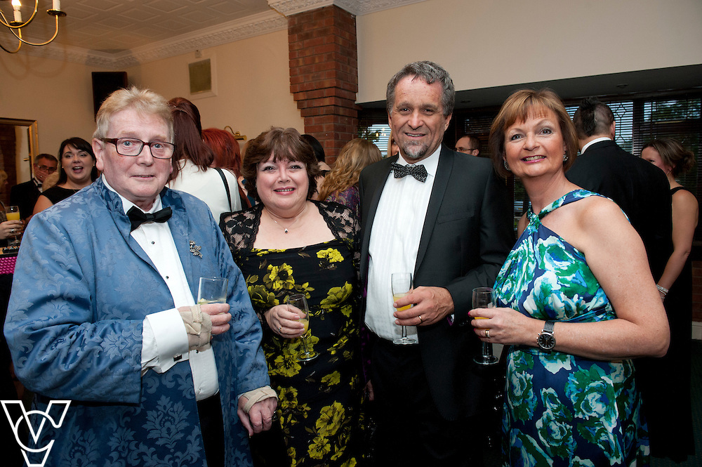 Gainsborough Business Awards 2015, held at the White Heather, Caenby Corner.  Pictured, from left, Nigel Webster, Kim Chafer, Peter Horner and Jayne Horner<br /> <br /> Picture: Chris Vaughan/Chris Vaughan Photography<br /> Date: September 17, 2015