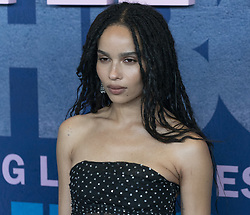 May 29, 2019 - New York, New York, United States - Zoe Kravitz wearing dress by Yves Saint Laurent attends HBO Big Little Lies Season 2 Premiere at Jazz at Lincoln Center (Credit Image: © Lev Radin/Pacific Press via ZUMA Wire)