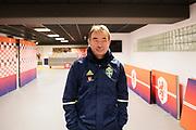 AMSTERDAM, NEDERL&Auml;NDERNA - 2017-10-09: Tom Prahl under tr&auml;ning inf&ouml;r FIFA 2018 World Cup Qualifier mellan Nederl&auml;nderna och Sverige p&aring; Amsterdam ArenA  den 9 oktober, 2017 i Amsterdam, Nederl&auml;nderna. <br /> Foto: Nils Petter Nilsson/Ombrello<br /> ***BETALBILD***