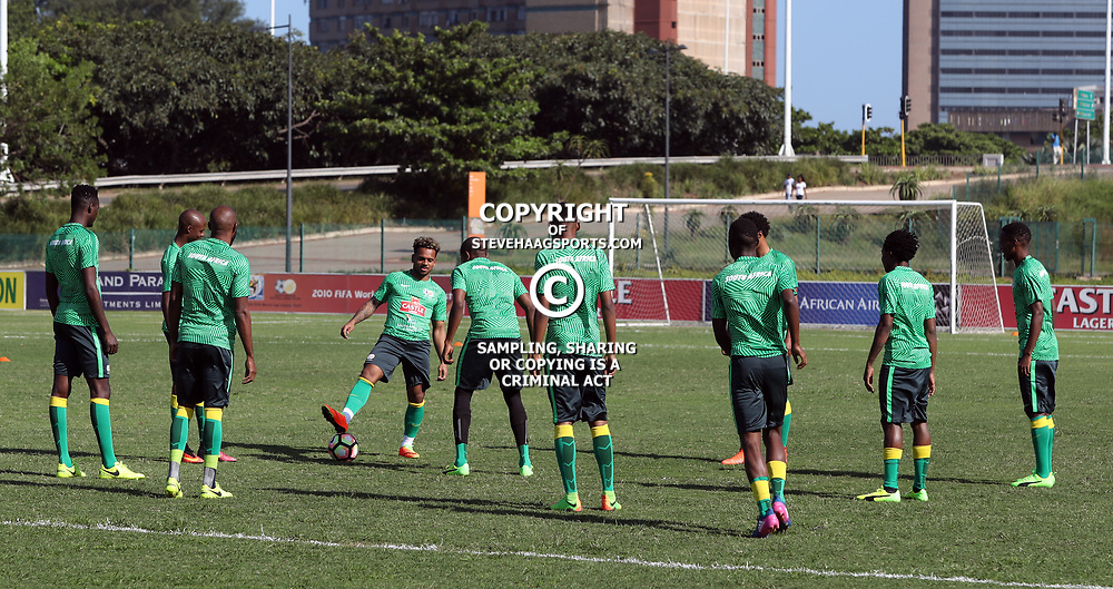 General views during the Bafana Bafana Training at People's Park, Moses Mabhida Stadium in Durban,21st March 2017 (Steve Haag)
