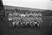 17/03/1965<br /> 03/17/1965<br /> 17 March 1965<br /> Railway Cup Football final Ulster v Connacht at Croke Park, Dublin. The Ulster team.