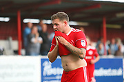 Accrington Stanley's Billy Kee (29) during the EFL Sky Bet League 2 match between Accrington Stanley and Coventry City at the Fraser Eagle Stadium, Accrington, England on 14 October 2017. Photo by John Potts.