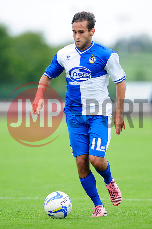 Bristol Rovers' U18s Carlos Gonzalez Barra  - Photo mandatory by-line: Dougie Allward/JMP - Tel: Mobile: 07966 386802 17/08/2013 - SPORT - FOOTBALL - Bristol Rovers Training Ground - Friends Life Sports Ground - Bristol - Academy - Under 18s - Youth - Bristol Rovers U18s V Bournemouth U18s