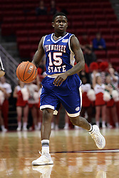 22 December 2015: Keron DeShields(15). Illinois State Redbirds host the Tennessee State Tigers at Redbird Arena in Normal Illinois (Photo by Alan Look)