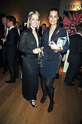 Left to right, CAROLINE STANBURY and YASMIN LE BON at the Lighthouse Gala Charity Auction in aid of the Terrence Higgins Trust held at Christie's, St.James' London on 23rd March 2009.