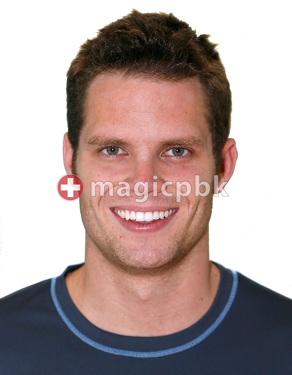 Switzerland's Dominik MEICHTRY poses for a portrait photo at the Swiss Swimming Championships in Geneva, Switzerland, Sunday, April 6, 2008. (Photo by Patrick B. Kraemer / MAGICPBK)