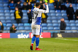 Alex Jakubiak of Bristol Rovers celebrates after the final whistle of the match  - Mandatory by-line: Ryan Hiscott/JMP - 29/12/2018 - FOOTBALL - Kassam Stadium - Oxford, England - Oxford United v Bristol Rovers - Sky Bet League One