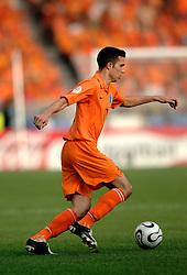 16-06-2006 VOETBAL: FIFA WORLD CUP: NEDERLAND - IVOORKUST: STUTTGART <br /> Oranje won in Stuttgart ook de tweede groepswedstrijd. Nederland versloeg Ivoorkust met 2-1 / Robin van Persie <br /> ©2006-WWW.FOTOHOOGENDOORN.NL