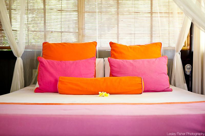 Bedroom of Villa Chai at T-House Villas, Ubud, Bali, Indonesia