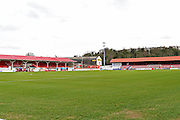 The Fleet stadium before the Vanarama National League South match between Ebbsfleet United and East Thurrock United at the Enclosed Ground, Whitehawk, United Kingdom on 4 March 2017. Photo by Jon Bromley.