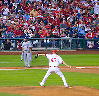 Ryan Madson  pitching 2009 NCL game against the Dodgers