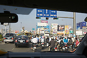 Morning traffic in Ho Chi Minh City (Saigon).