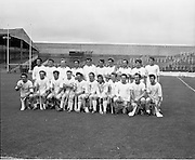 04/10/1970<br /> 10/04/1970<br /> 10 April 1970<br /> All-Ireland Intermediate Hurling Final: Antrim v Warwickshire at Croke Park, Dublin.<br /> The Antrim team which won the All-Ireland Intermediate Hurling Final against Warwickshire.
