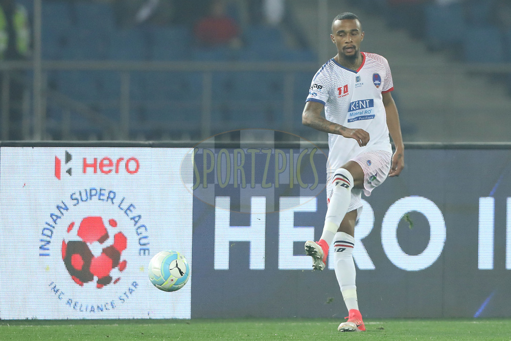 during match 43 of the Hero Indian Super League between Delhi Dynamos FC and Kerala Blasters FC  held at the Jawaharlal Nehru Stadium, Delhi, India on the 10th January 2018<br /> <br /> Photo by: Arjun Singh  / ISL / SPORTZPICS