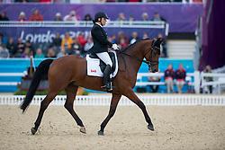 Eleonore Elstone (CAN) - Zareno<br /> Individual Championship Test - Grade Ia<br /> London 2012 Paralympic Games<br /> © Hippo Foto - Jon Stroud